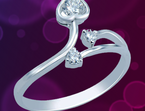 CARATERA FINE JEWELRY – Women's 18K White Gold Promise Ring