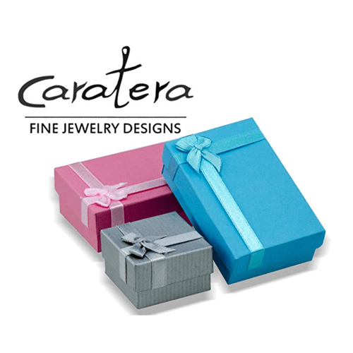 Caraterra - 18K White Gold Eternal Couple's Promise Ring 2