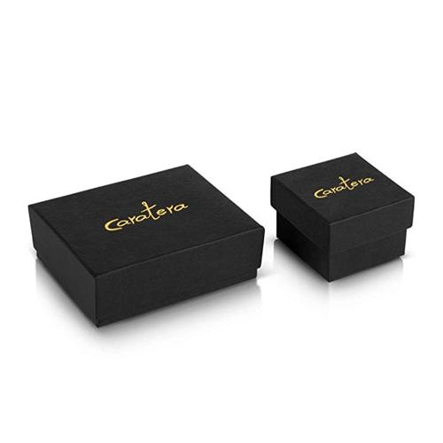 Caraterra - 18K White Gold Eternal Couple's Promise Ring 3